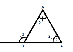 Remote Interior Angle  An Interior Angle That Is Not Adjacent To The  Exterior Angle(each Exterior Angle Has 2 Of These)